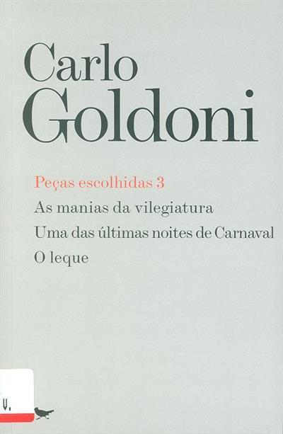 Peças escolhidas [de] Carlo Goldoni ([pref.] Jorge Silva Melo,  Maria João Almeida )