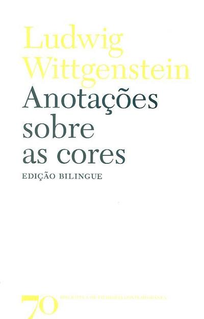Anotações sobre as cores