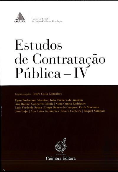 Estudos de contratação pública (CEDIPRE - Centro de Estudos de Direito Público e Regulação)