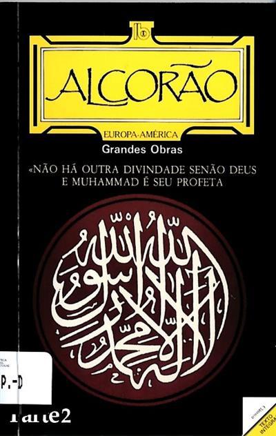 Alcorão (introd., notas Suleiman Valey Mamede)