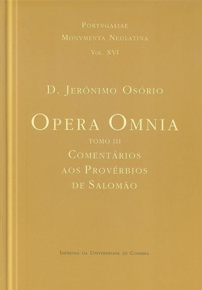 Opera omnia (Jerónimo Osório)