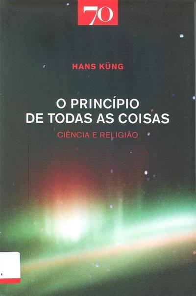 O princípio de todas as coisas (Hans Küng)