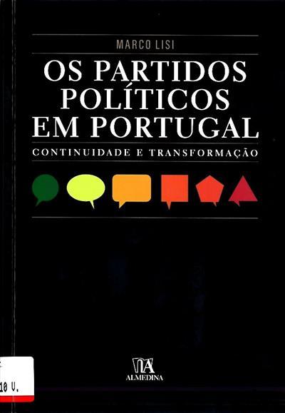 Os partidos políticos em Portugal (Marco Lisi)