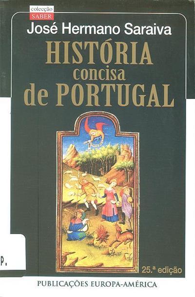 História concisa de Portugal (José Hermano Saraiva)