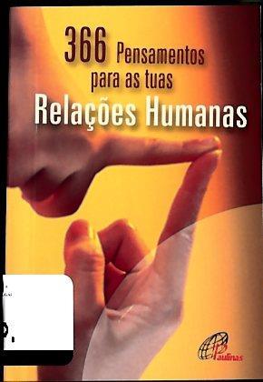 366 pensamentos para as tuas relações humanas (org. Paulinas Colômbia)