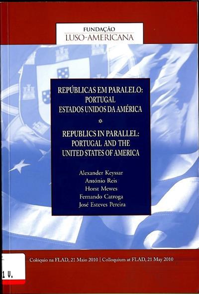 """Repúblicas em paralelo (Colóquio """" Repúblicas em Paralelo"""")"""