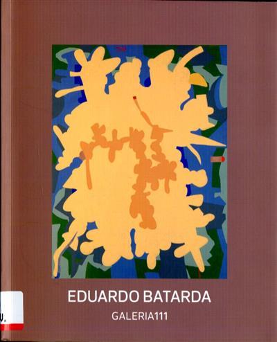 Eduardo Batarda no CAMB (textos Eduardo Batarda)