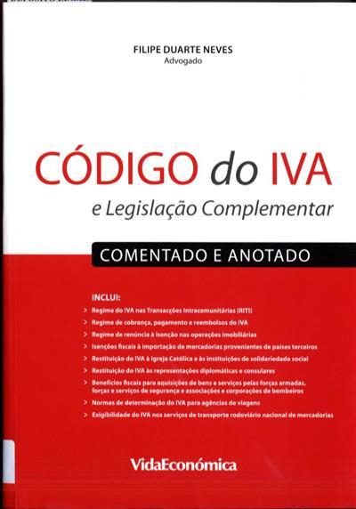 Código do IVA (Filipe Duarte Neves)