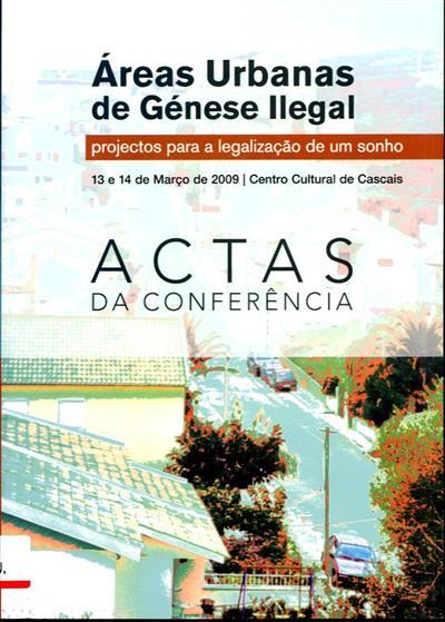 """Áreas urbanas de génese ilegal (da Conferência """"Áreas..."""")"""
