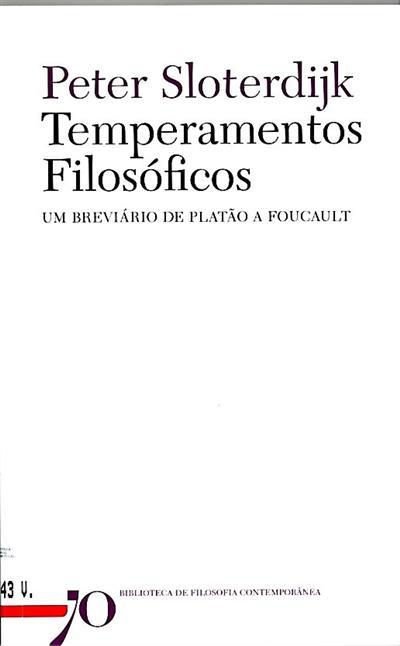 Temperamentos filosóficos (Peter Sloterdijk)