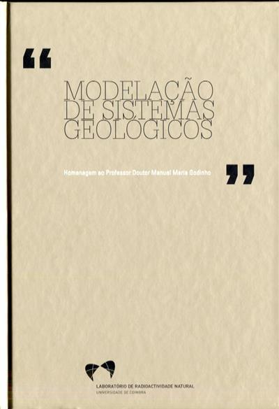 Modelação de sistemas geológicos (Simpósio Modelação...)