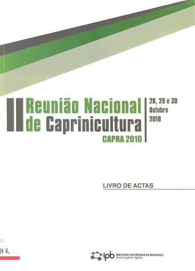 II Reunião Nacional de Caprinicultura