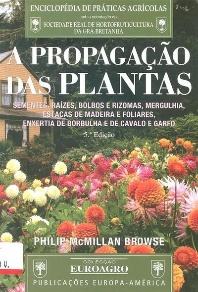 A propagação das plantas (Philip McMillan Browse)