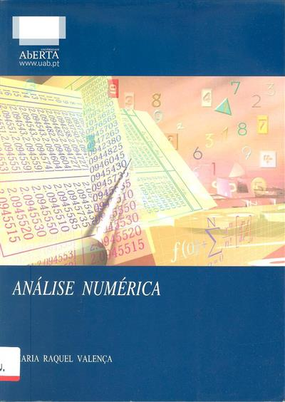 Análise numérica (Maria Raquel Valença)