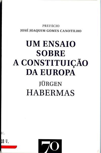 Ensaio sobre a constituição da Europa (Jürgen Habermas)
