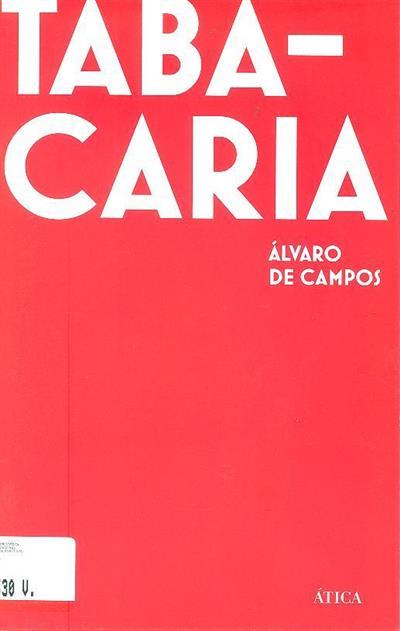 Tabacaria (Álvaro de Campos)