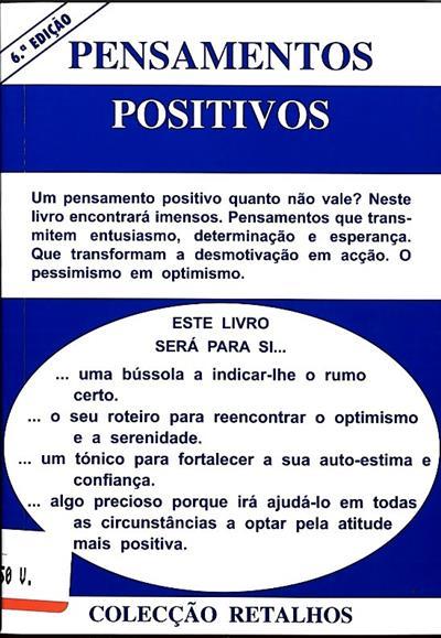 Pensamentos positivos ([compil.] Nunes dos Santos)