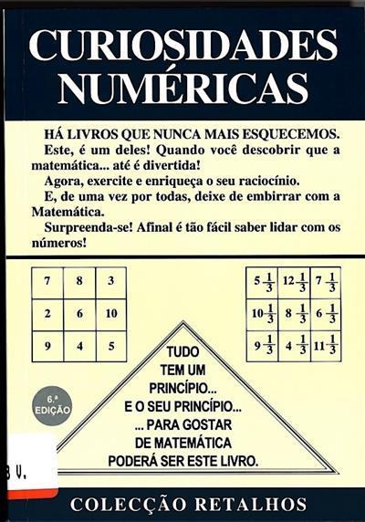 Curiosidades numéricas (Nunes dos Santos)