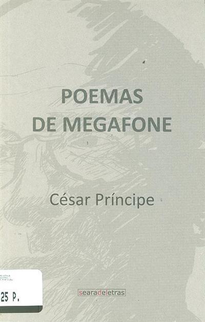 Poemas de megafone (César Príncipe)