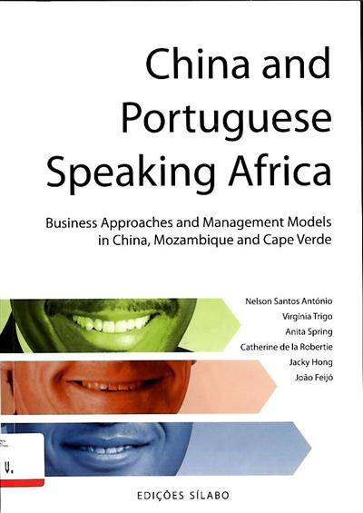 China and portuguese speaking Africa (Nelson Santos António... [et al.])