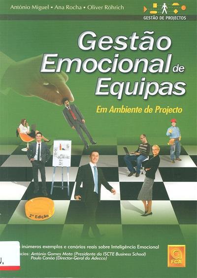 Gestão emocional de equipas em ambiente de projecto (António Miguel, Ana Rocha, Olivier Röhrich)