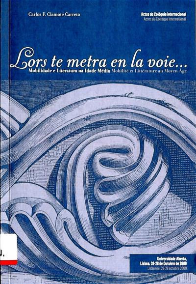 Mobilidade e literatura na Idade Média (Colóquio Internacional)