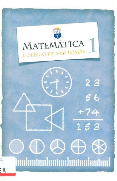 Matemática 1 (Colégio de São Tomás)
