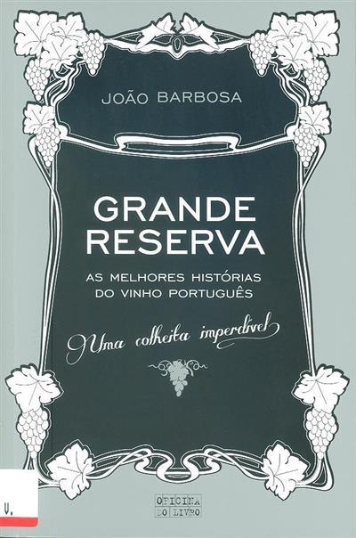 Grande reserva (João Barbosa)