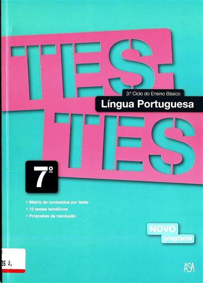 Testes língua portuguesa (Lara Amaral)
