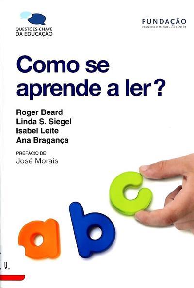 Como se aprende a ler? (Roger Beard... [et al.])