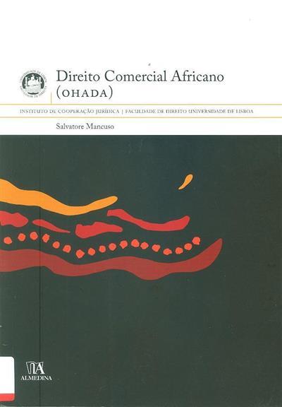 Direito comercial africano (OHADA) (Salvatore Mancuso)