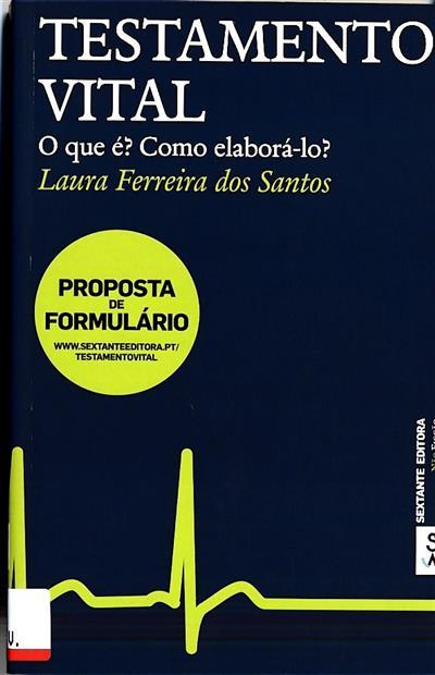 Testamento vital (Laura Ferreira dos Santos)