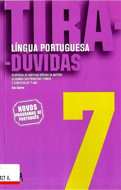Tira-dúvidas (Ana Soares)