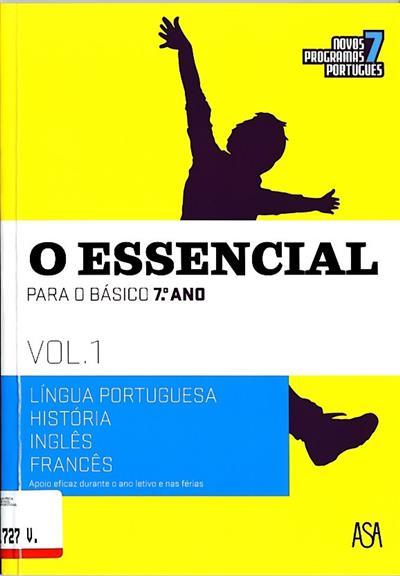 O essencial para o básico, 7º ano (Palmira Gomes... [et al.])