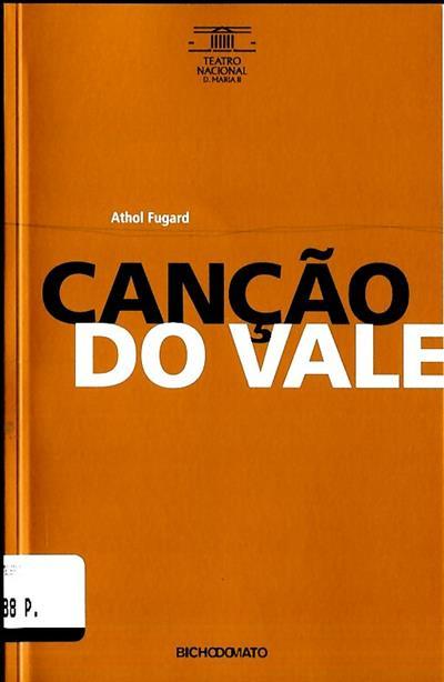 Canção do vale (Athol Fugard)