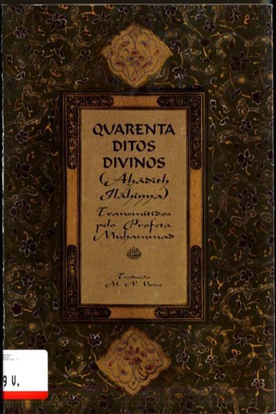 40 ditos divinos (trad. M. N. Vieira)