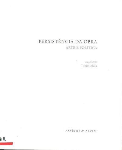 Persistência da obra (org. Tomás Maia)