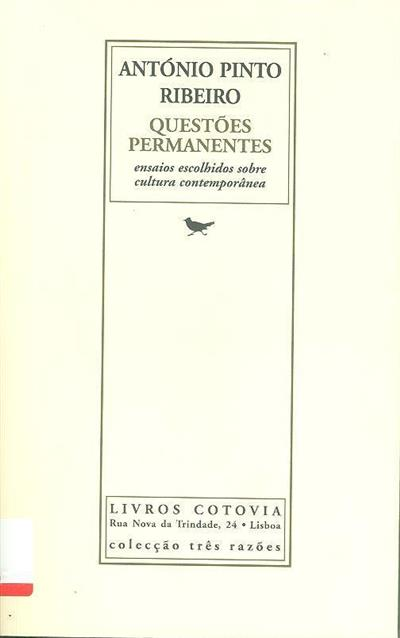 Questões permanentes (António Pinto Ribeiro)