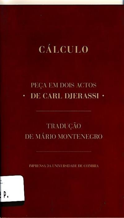 Cálculo (Carl Djerassi)