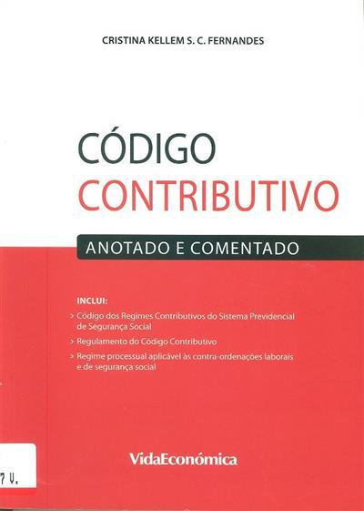 Código contributivo (Cristina Kellem S.c. Fernandes)
