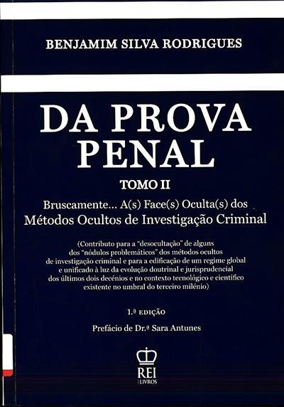 Da prova penal (Benjamin da Silva Rodrigues)