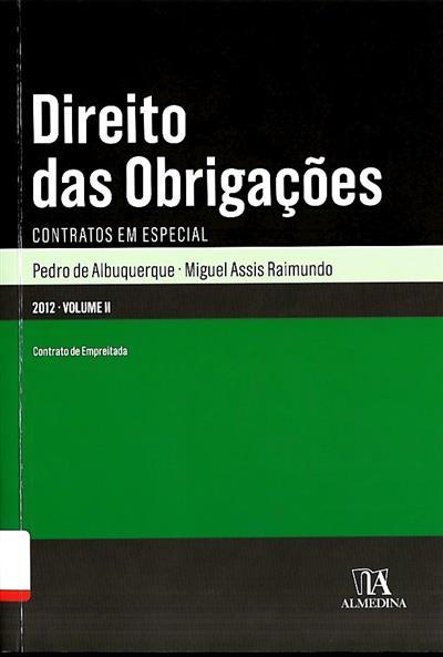 Direito das obrigações (Pedro de Albuquerque, Miguel Assis Raimundo)