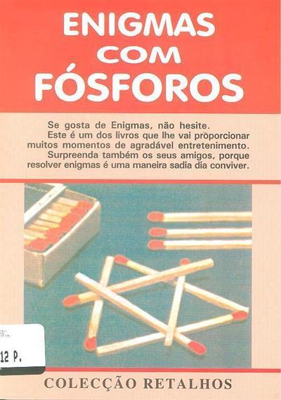 Enigmas com fósforos (Nunes dos Santos)