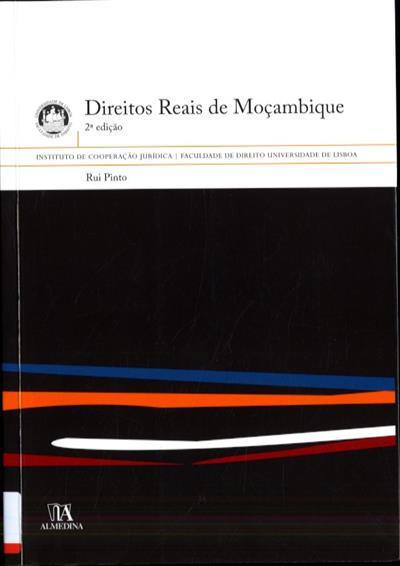 Direitos reais de Moçambique (Rui Pinto)