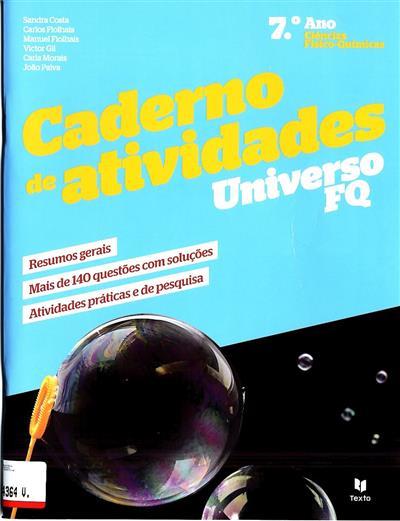 Caderno de atividades (Sandra Costa... [et al.])