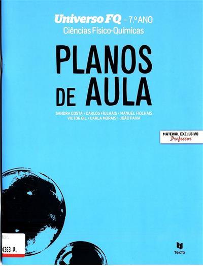 Planos de aula (Sandra Costa... [et al.])