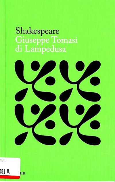 Shakespeare (Guiseppe Tomasi di Lampedusa)