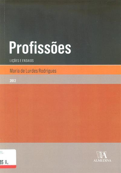 Profissões (Maria de Lurdes Rodrigues)