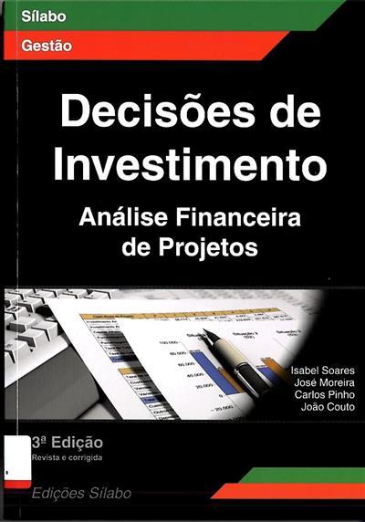 Decisões de investimento (Isabel Soares... [et al.])