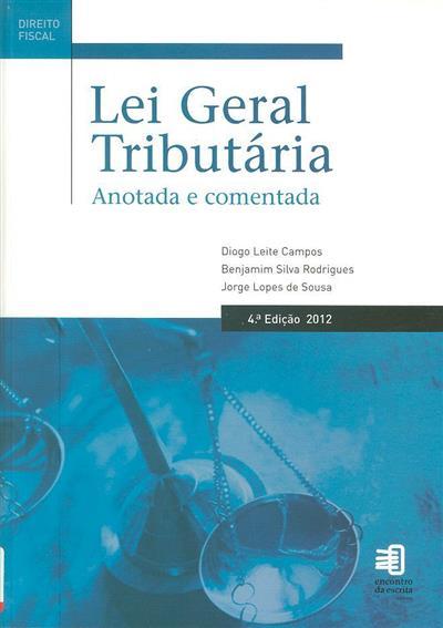 Lei geral tributária (Diogo Leite de Campos, Benjamim Silva Rodrigues, Jorge Lopes de Sousa)